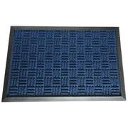 Rubber-Cal, Inc. Wellington  Doormat; Blue