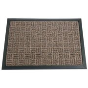 Rubber-Cal, Inc. Wellington Doormat; Brown