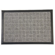 Rubber-Cal, Inc. Wellington Doormat; Gray