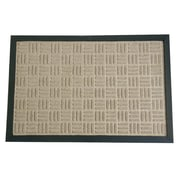 Rubber-Cal, Inc. Wellington  Doormat; Tan