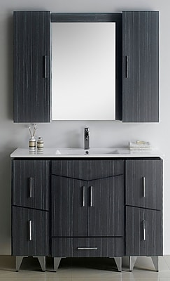 American Imaginations Zen 48'' Modern Vanity Base Set WYF078279149282