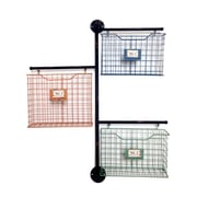 Wilco Home Store It Metal 3-Basket Wall File Organizer