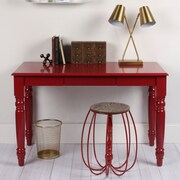Kate and Laurel Turin Writing Desk; Red
