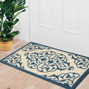 A1 Home Collections LLC First Impression Engineered Anti Shred Treated Moricio Entry Doormat