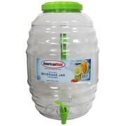 American Maid Plastic Honey Comb 640 Oz. Beverage Dispenser; Green