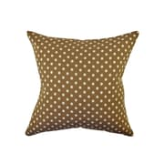 Vesper Lane Polka Dot Throw Pillow; 20'' H x 20'' W x 6'' D