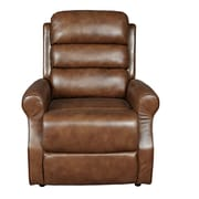 Porter International Designs Aurora Breathable Seat Assist Lift Chair; Tobacco Brown
