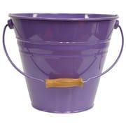 Houston International Enameled Galvanized Fun Bucket; Violet