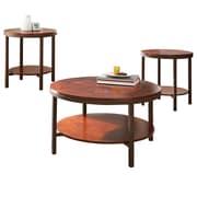 Steve Silver Furniture Trisha 3 Piece Coffee Table Set