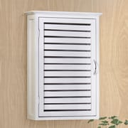 Gallerie Decor Spa 14.5'' W x 21'' H Wall Mounted Cabinet; White