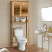 Gallerie Decor Spa 27.5'' W x 67'' H Over the Toilet Storage; Natural
