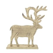 Gold Eagle USA Moose Cut Out Holiday Table Top D cor