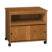 Ironwood General Mobile Printer Stand; Dixie Oak