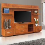 REZFurniture Mandir Entertainment Center; Cinnamon