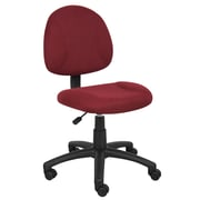 Boss Burgundy  Deluxe Posture Chair (B315-BY)