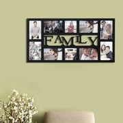 Homebeez ''Family'' 10 Slot Picture Frame