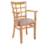 Benkel Seating Solid Wood Arm Chair
