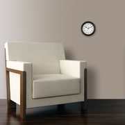 "FirsTime® 8.5"" Black Essential Wall Clock"
