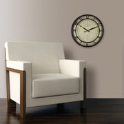 "FirsTime® 18"" Kensington Whisper Wall Clock"