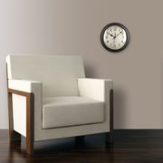 "FirsTime® 11"" Bronze Slim Wall Clock"