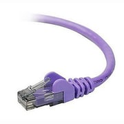 Belkin™ A3L980-06-PUR Purple 6' RJ-45 Male/Male CAT6 UTP Patch Cable for Omniview KVM Switch