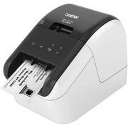 "Brother QL Series QL-800 2.3"" High Speed Professional Label Printer, White/Black"