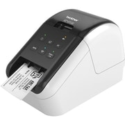 "Brother QL Series QL-810W 2.3"" Ultra-Fast Label Printer with Wireless Networking, White/Black"