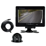 Pyle Rearview Backup Camera/Video Monitor System, Black (PLCMTR70)