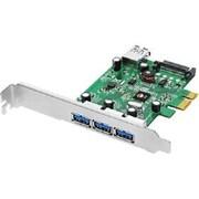 SIIG 4-Port USB 3.0 PCIe Adapter (JU-P40213-S1)