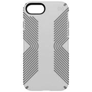 "speck 79987-5728 Presidio Polycarbonate Grip Case for 4.7"" Apple iPhone 7, White/Ash Grey"