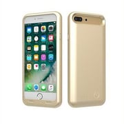 TAMO Extended Battery Case for Apple iPhone 7 Plus, 4000 mAh, Gold (TAE-BAT-I7P-GD)
