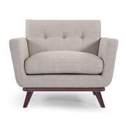 Kardiel Jackie Mid Century Modern Club Chair; Dove Gray
