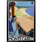 Buy Art For Less 'Monte Carlo' Framed Graphic Art; 24'' H x 16'' W x 1'' D