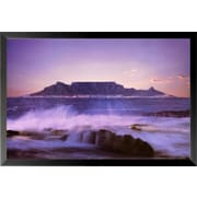 Buy Art For Less 'Table Mountain' Framed Photographic Print; 12'' H x 18'' W x 1'' D
