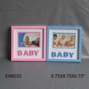 Essential Decor & Beyond Baby Picture Frame; Blue