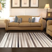 Simple Luxury Corona Brown Area Rug; 4' x 6'