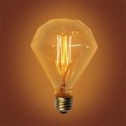 Urbanest 60W Amber E26 Incandescent Vintage Filament Light Bulb