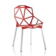 C2A Designs Web Side Chair; Red