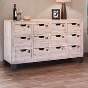 International Furniture Direct 12 Drawer Chest
