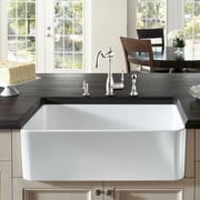 Fine Fixtures Butler 29.5'' X 18.5'' Fireclay Kitchen Sink