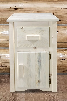 Montana Woodworks Homestead End Table; Ready to Finish WYF078279965072
