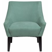 Porter International Designs Lila Arm Chair; Light Turquoise