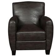 Porter International Designs Henry Arm Chair; Espresso Brown