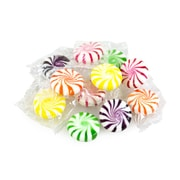 Assorted Fruit Starlights, 5 lb. Bulk