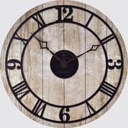 "FirsTime® 18"" Reclaimed Whitewash Wall Clock"
