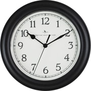 "FirsTime® 8.5"" Black Essential Wall Clock"