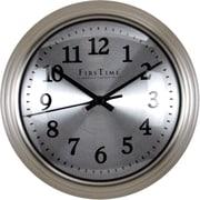 "FirsTime® 7"" Sleek Steel Wall Clock"