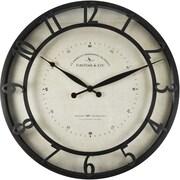 "FirsTime® 18"" Kensington Whisper Wall Clock"