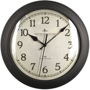 "FirsTime® 11"" Bronze Slim Wall Clock"