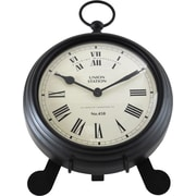 """FirsTime® 7"""" by 9"""" Station Pocket Tabletop Clock"""